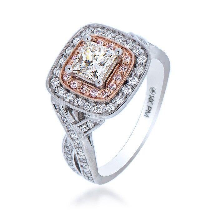 Maple Leaf Diamond Engagement Ring (80316). $5,945.