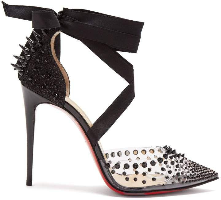 online store 48794 3ed0e CHRISTIAN LOUBOUTIN Mechante Reine stiletto heels ...