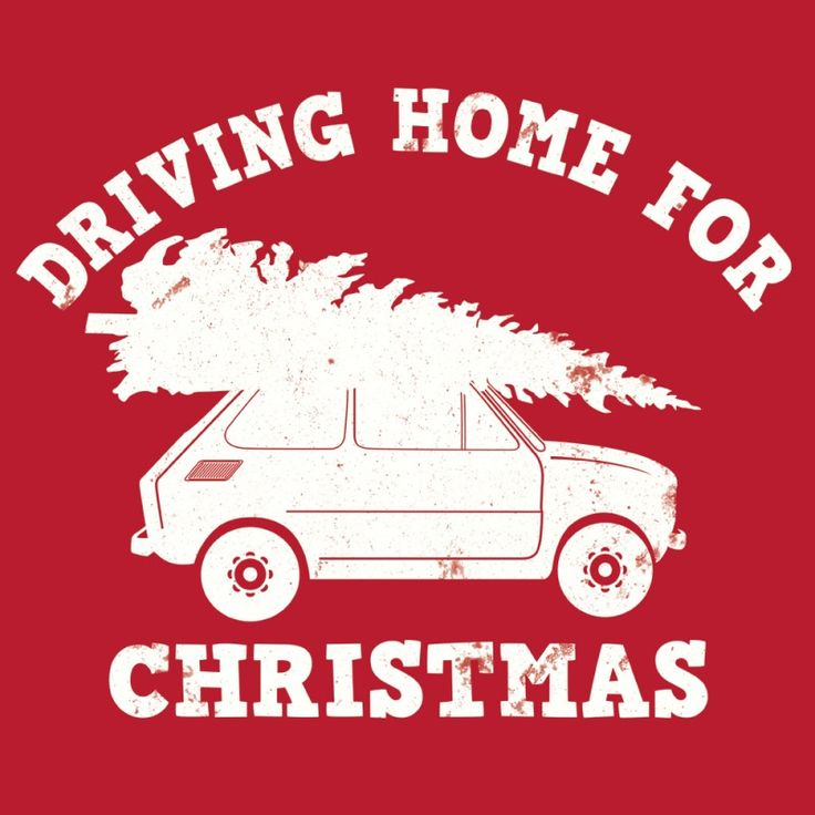 Driving home for christmas t-shirt by hairybaby.com