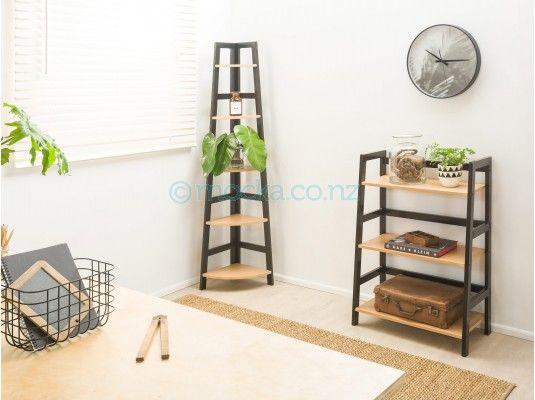 Porto Five Shelf and Three Shelf