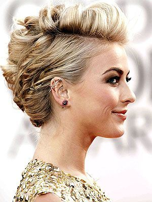 Short hairstyles for masquerade ball