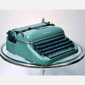 I love the idea of a vintage typewriter for my writing.....