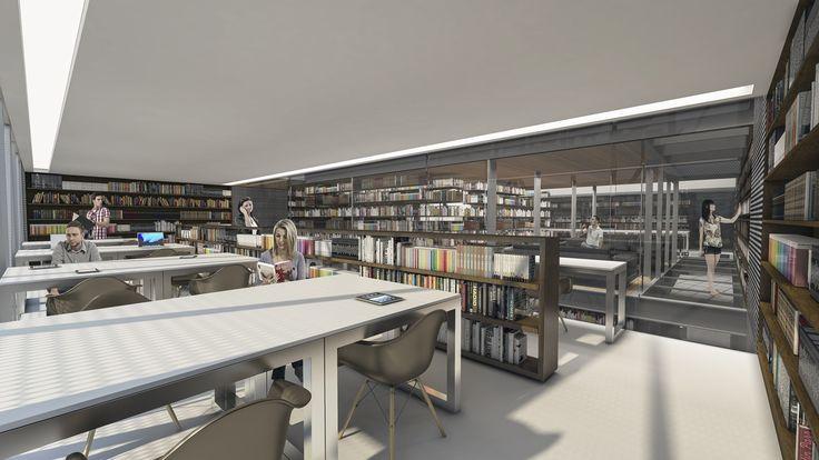 Galeria de Novo Edifício da Biblioteca da Faculdade de Direito da USP / Vinicius Mazzoni, Akanoe Martins Ferreira e Giuliana Siqueira Mocelin - 7