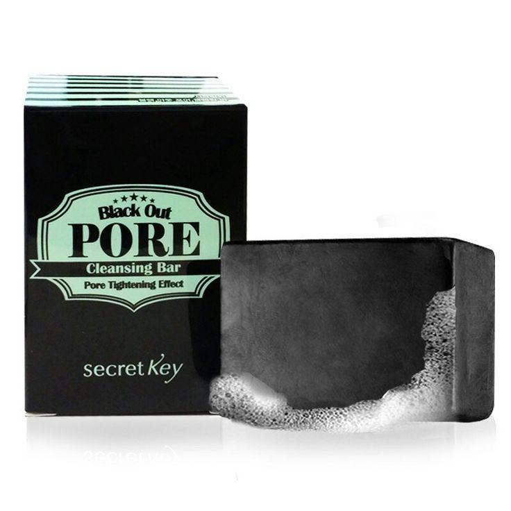 Black Out Pore Cleansing Bar RM47 #kabilahawanbiru #naturalbeautykshop #secretkey #blackoutpore #blackoutporecleansingbar #soap #cleanser #sayajual #original