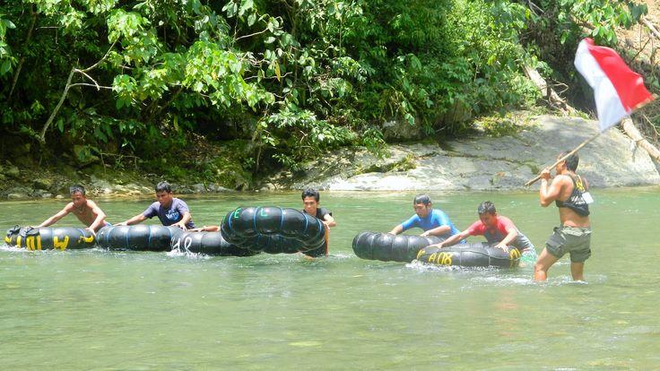 River Tubing races