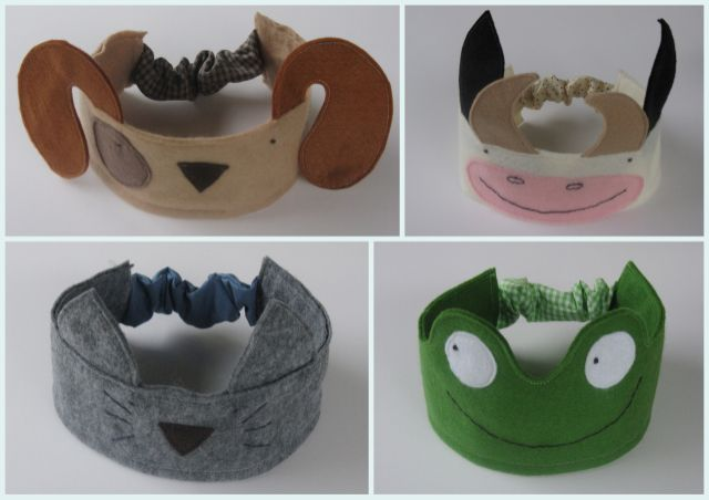 DIY tutorial for animal crowns...  looks like it is in arabic but tutorial has lots of pictures... and a template