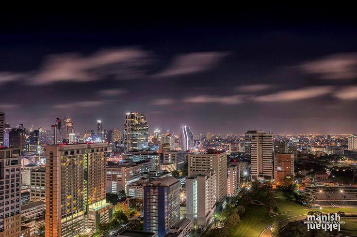 Beautiful cityscape of Bangkok at night. . The city which never sleeps is that true ? no not at all  at night it looks more amazing. .  #writetotravel#travelphotographer #travel #bbctravel #postcardsfromtheworld #wanderlust #passionpassport #passport #tourism #natgeo #natgeotravel #instatravel #outdoors #traveler #travelphotography #photoofthday #instapicture #travelphoto #withManish #incredible .  #roadtrip #thailand #bangkok #night #joy #city #life #southeastasia #culture
