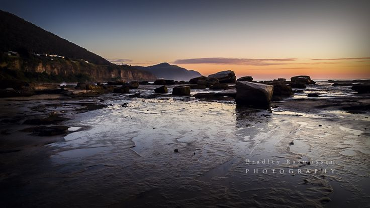 Landscape Photography |Rocks fallen long ago from the cliffs above, stand witness to the dawn of a new day.  #NSW  #Illawarra  #Seascape #sunrise |http://www.bradleyrasmussenphotography.com.au https://www.facebook.com/bradleyrasmussenphotography
