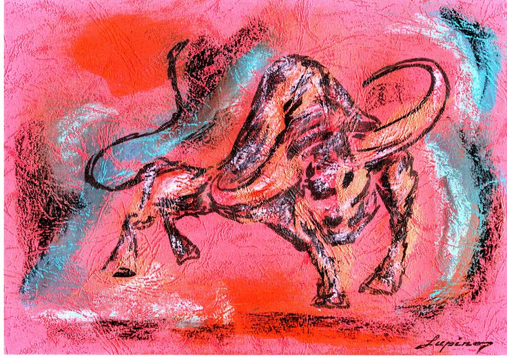 Marian Lupu LUPINO -mixt-21X29 cm