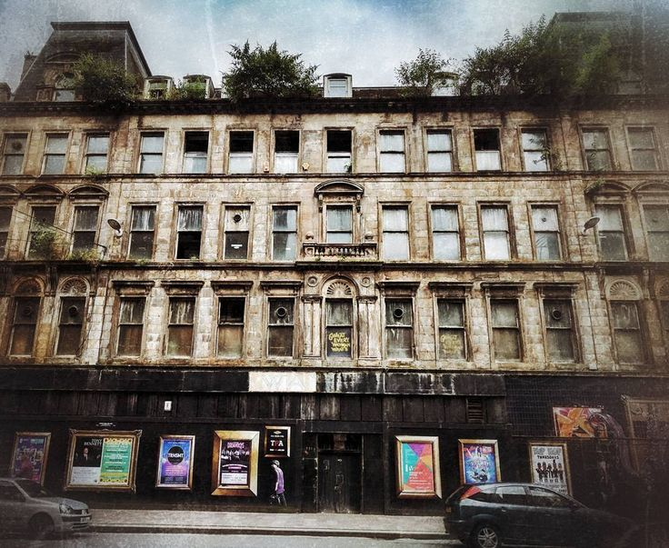 Stunned by the decay on the building in Argyle Street. Windows and stone merging . #glasgow #urbandecay #fadedglory