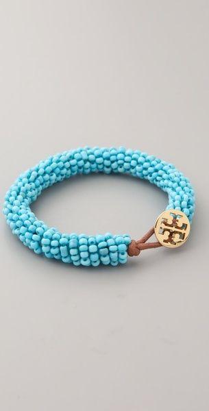 Tory Burch Beaded Bracelet