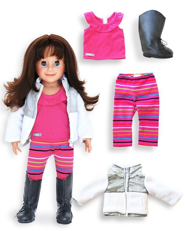 Nina i jej specjalny zestaw ubrań / Nina and her special outfit