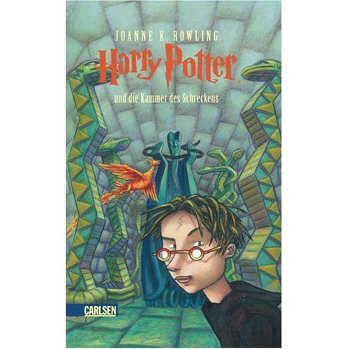 Harry Potter und die Kammer des Schreckens (German Edition of Harry Potter and the Chamber of Secret @ niftywarehouse.com #NiftyWarehouse #HarryPotter #Wizards #Books #Movies #Sorcerer #Wizard