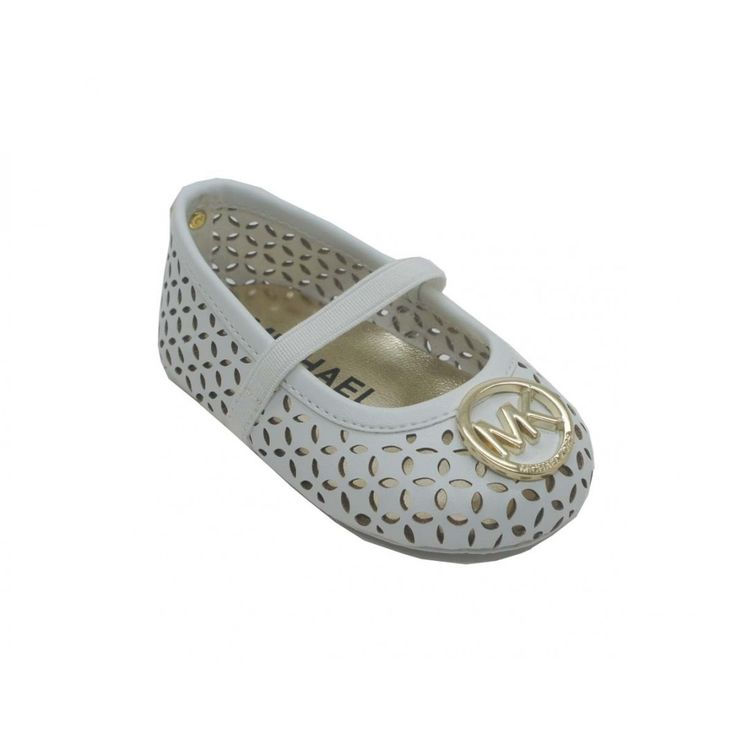Easter: An adorable crib shoe featuring a trendy cut out upper design, embellished with a branded ornament and an elastic strap to secure onto tiny feet.
