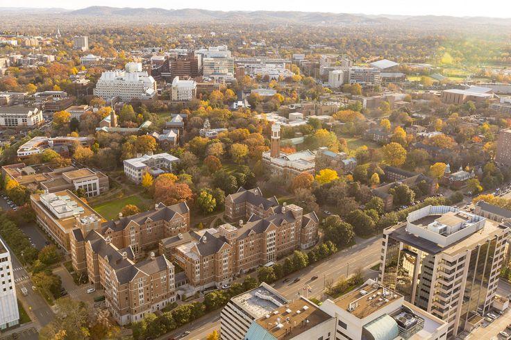 https://flic.kr/p/BwLsif | Vanderbilt & Nashville | Aerial photos of Vanderbilt Campus ..(Daniel Dubois / Vanderbilt University).