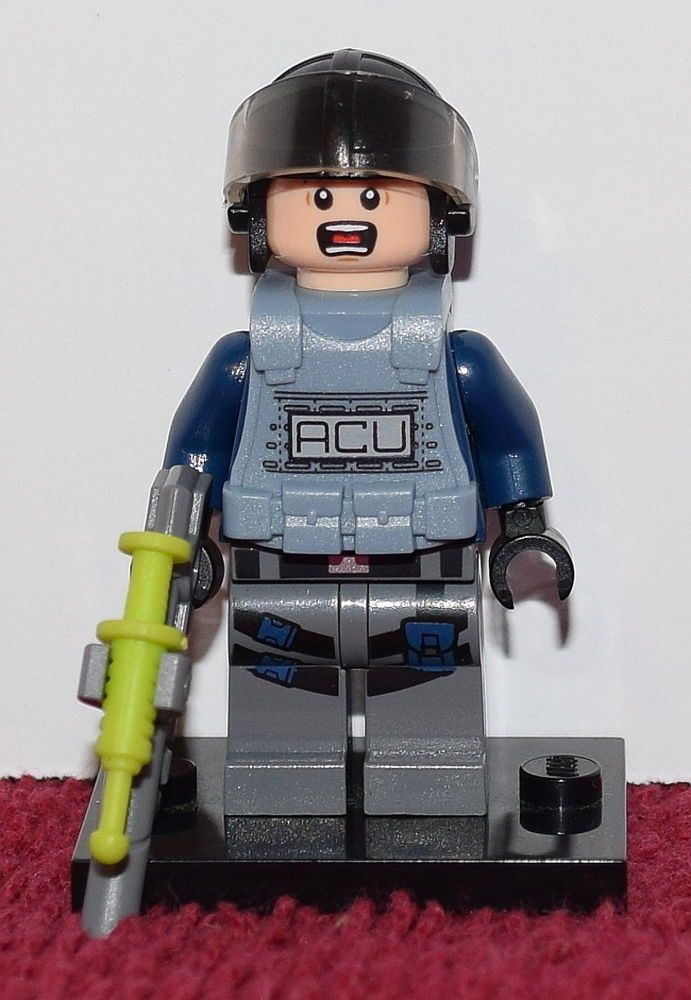LEGO 75915 JURASSIC WORLD ACU TROOPER FEMALE Minifigure Mini Figure Minifig