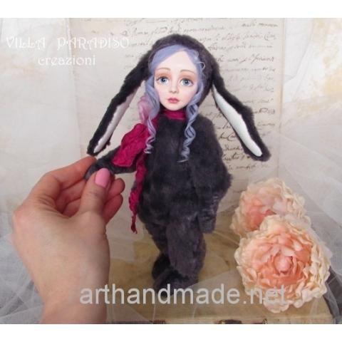 Teddy doll - http://arthandmade.net/catalog/teddidoll doll, teddy, teddy doll, collectible doll, handmade doll, gift, original gift, handmade, craft, collection, Gallery Magical World, кукла, купить куклу, тедди, тедди долл, коллекционная кукла, кукла ручной работы, подарок, оригинальный подарок, ручная работа, коллекция, Галерея Волшебный Мир