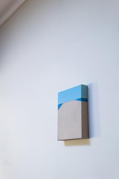 Minimalist Wall Art by local artist Ben Morley. More abstract paintings by local…