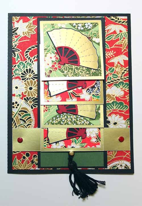 29 best paper crafts waterfall cards images on pinterest for Waterfall design in scrapbook