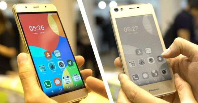 Dual-screen Hisense A2 smartphone is also an ereader