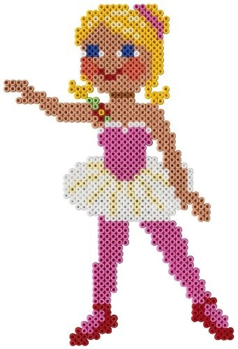 ballerina hama perlen perler beads b gelperlen perler beads pinterest perler beads. Black Bedroom Furniture Sets. Home Design Ideas