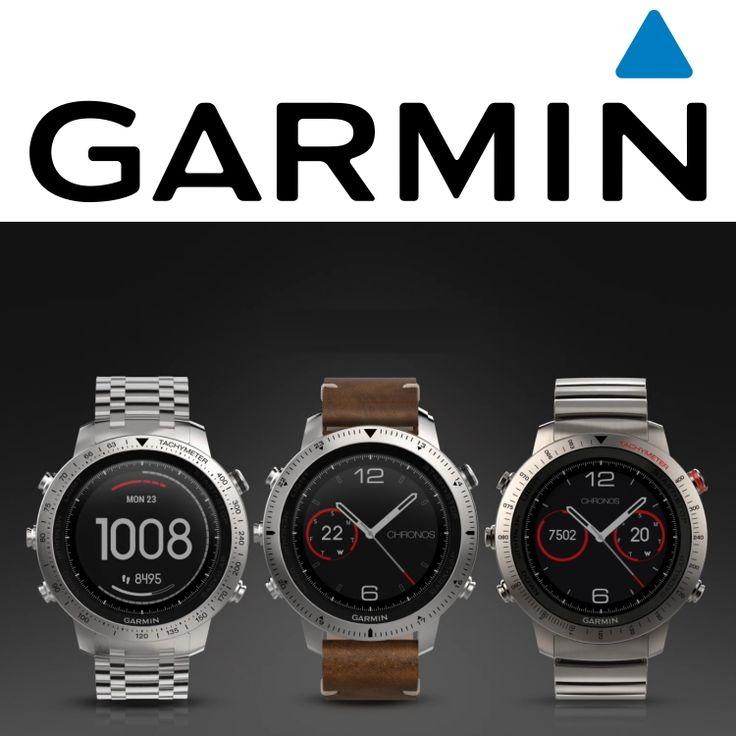 De Fénix Chronos is het meest luxe horloge van Garmin. Sportief maar ook gekleed. Garmin, het ultieme sporthorloge. Stappenteller, polsslagmeter en GPS. Veel sporten voorgeprogrammeerd. Talloze extra aps en wijzerplaten downloadbaar.  http://www.cdjuwelier.net/garmin