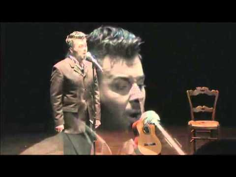Philippe Jaroussky's David Bowie Tribute - Always crashing in the same car - YouTube