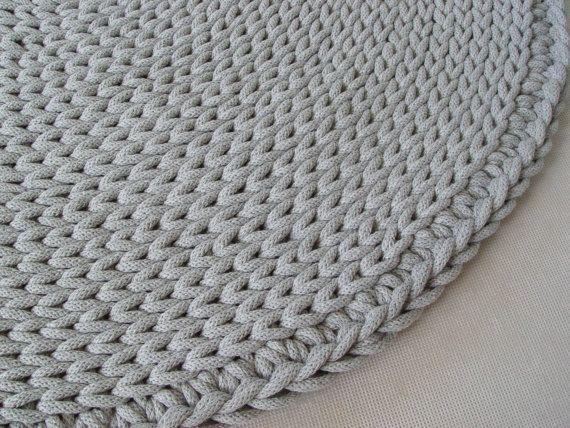17 mejores ideas sobre alfombras redondas en pinterest for Alfombra redonda gris