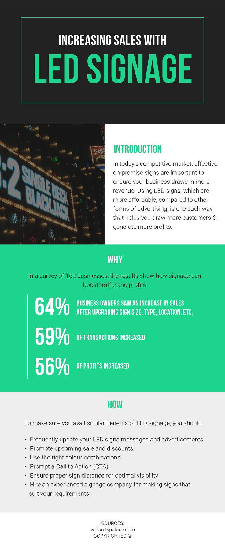 One of the most effective forms of advertising in today's competitive market is using LED signs. To increase sales with these signs, make sure you prompt a call to action, hire an experienced signage company and others.