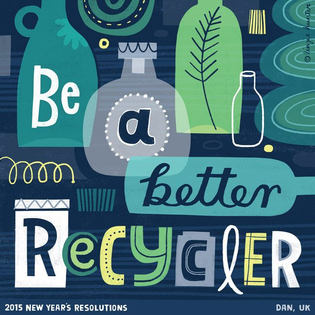 Be a Better Recycler (c) Linzie Hunter