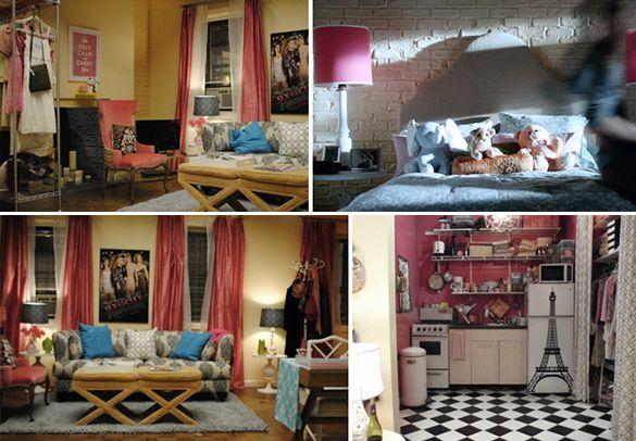 """Série de quinta: apartamento da Shoshanna de """"Girls"""" ~ Vida Louca de Casada"""