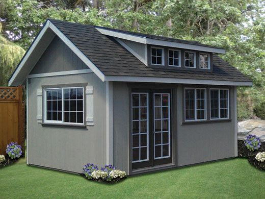17 best ideas about cottage garden sheds on pinterest - Cottage garden shed pictures ...