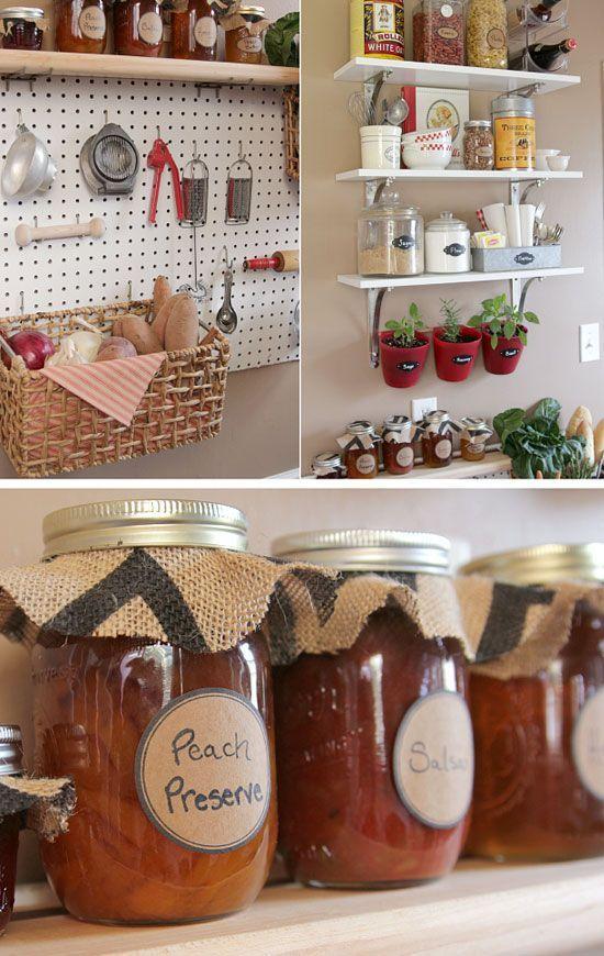 18 Small Kitchen Organization Ideas Small Kitchen Decorating ideas