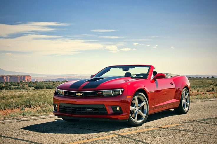 'Sittin' Pretty' ~ The 2014 #Camaro SS Convertible looked great in the Utah sun!  #GlassCamaro #Sponsored #Chevrolet