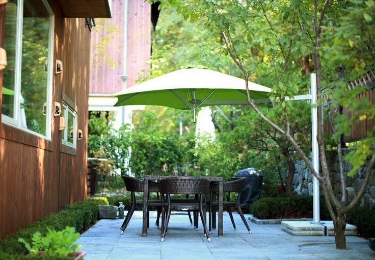 17 beste afbeeldingen over paraflex parasols op pinterest tuinidee n decks en diners for Schaduw een terras