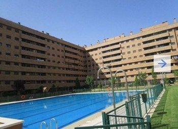 #Vivienda #Toledo Piso en alquiler en #Seseña zona El Quiñón - Piso en alquiler por 600€ , 2 habitaciones, 105 m², 2 baños, con piscina, con trastero, con ascensor