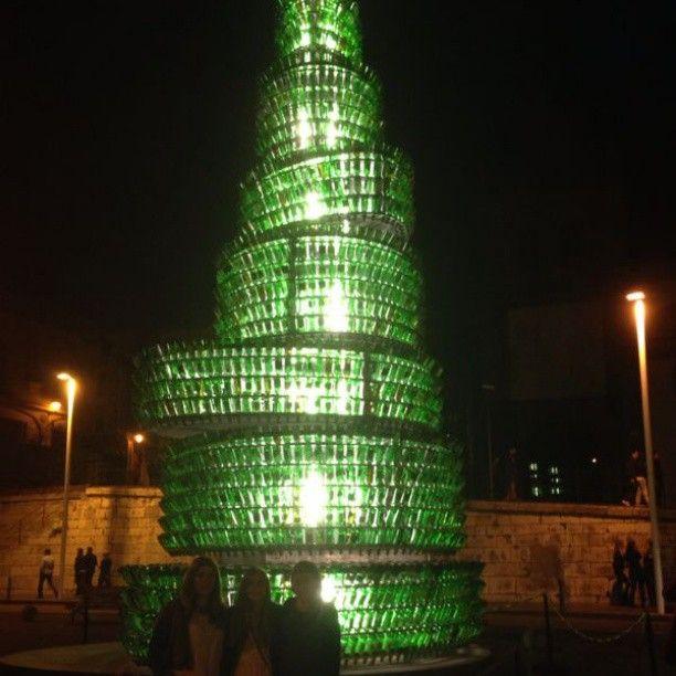 #Árbol #De #Botellas #De #Sidra #Gijón #Night #Fiesta @carlavivelavida @miriampicones Web Instagram User » Followgram