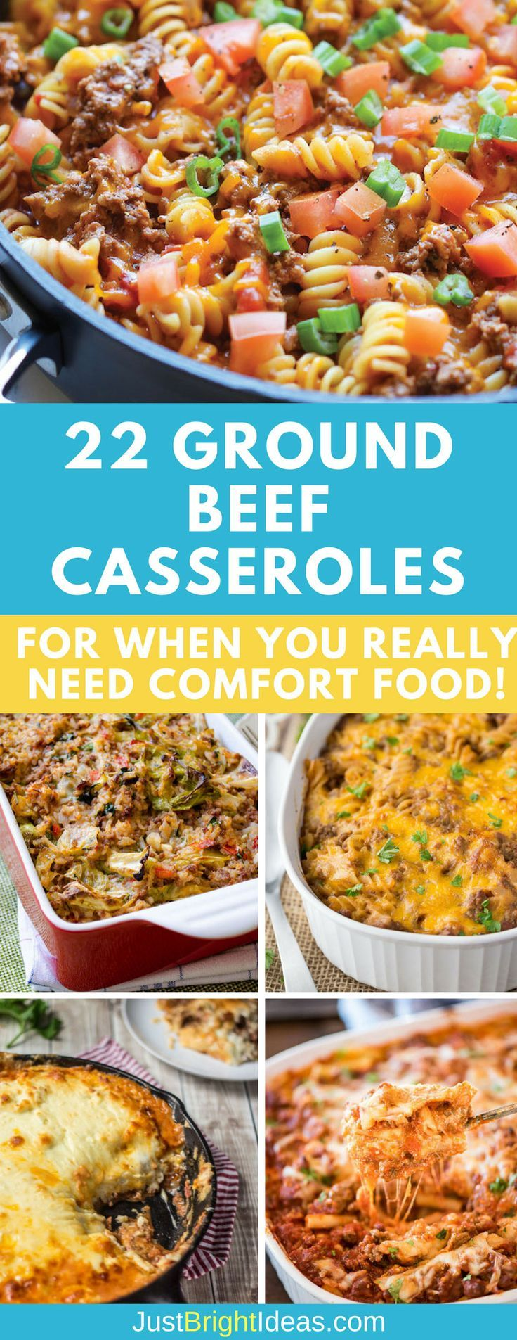 Lure your family to the table with the these easy ground beef casserole recipes teamed with rice, noodles, or even crescent rolls!