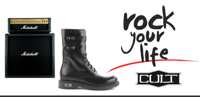 Cult Rock, le scarpe made in Italy con la grinta da rock star.