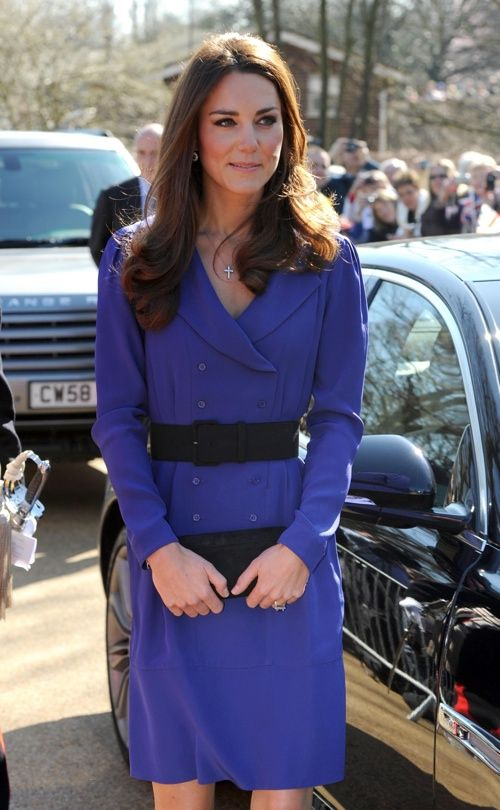 Duchess of Cambridge visits East Anglia's Children's Hospices  I love this Reiss Trina Dress if only they could bring back a limited edition supply in stores :(