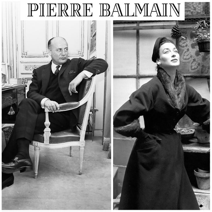 Pierre Balmain - An Inspiration - Balmain Pens   The History of Pierre Balmain the famous French Fashion Designer