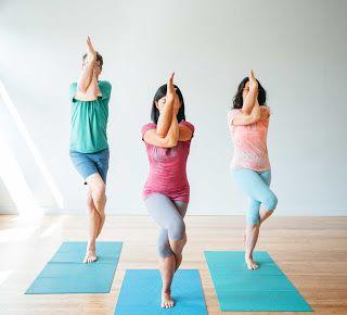 wake up and loosen up with garudasana  eagle pose yoga