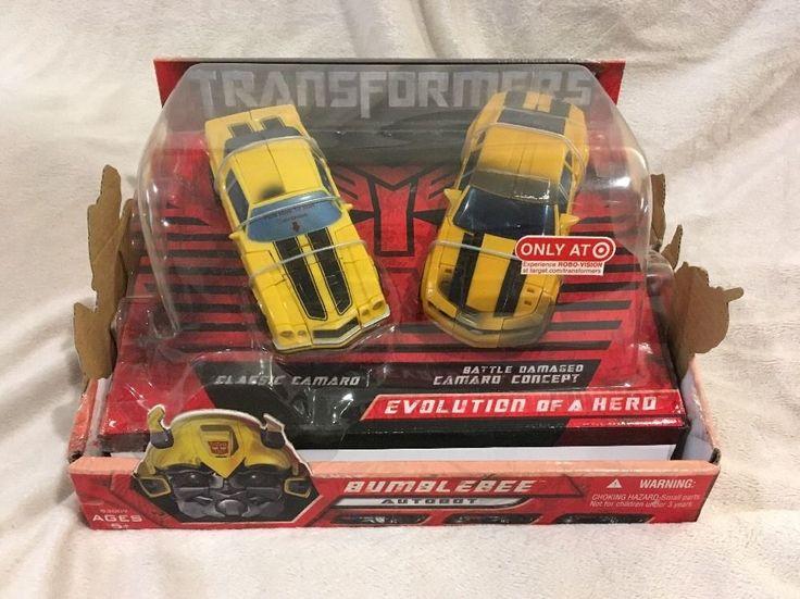 Transformers Deluxe Class Evolution of a Hero BumbleBee Classic Camaro Target  #Hasbro