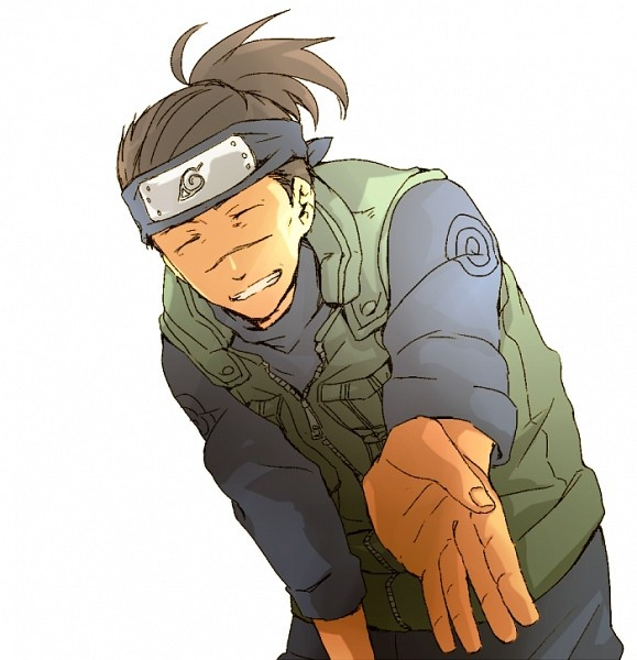 Iruka Kakashi(Naruto)-He loves Naruto so much. He is often worried about him. And he's really important for Naruto. He was the first person who believed in Naruto. He's the person Naruto respects the most.