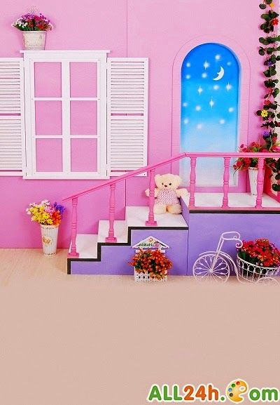 PSD - Phông cảnh nhà đẹp ghép ảnh cho baby   Diễn đàn đồ họa - Học thiết kế đồ họa   Photoshop24h