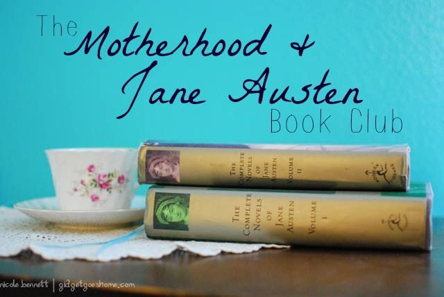 The motherhood and jane austen book club- come read Mansfield Park with us in Feb & March!