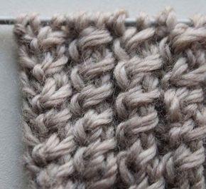 Einfacher als klassische Zöpfe und sehr hübsch als Bündchenmuster für Pullover, Strickjacken oder Stulpen [...]