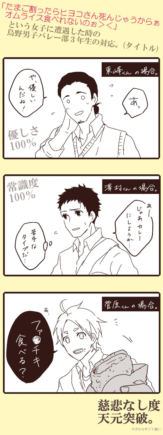 「【含・腐】ハイキューログ2」/「も太」の漫画 [pixiv]