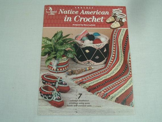 Annies Attic crochet Native American in Crochet pattern book
