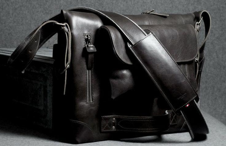 Hard Graft Leather bag